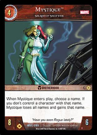 Mystique, Shapely Shifter