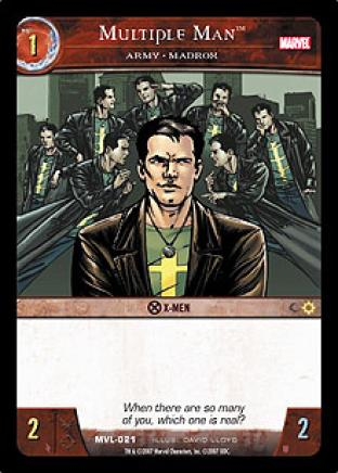Multiple Man, Army <> MadroX