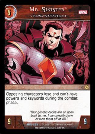 Mr. Sinister, Visionary Geneticist