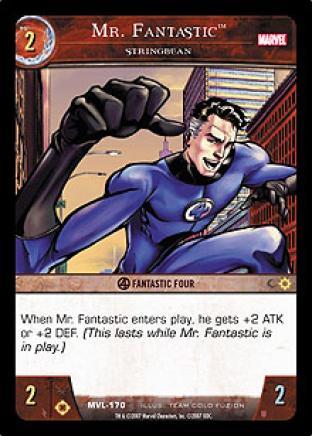 Mr. Fantastic, Stringbean