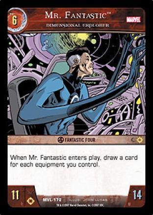 Mr. Fantastic, Dimensional Explorer
