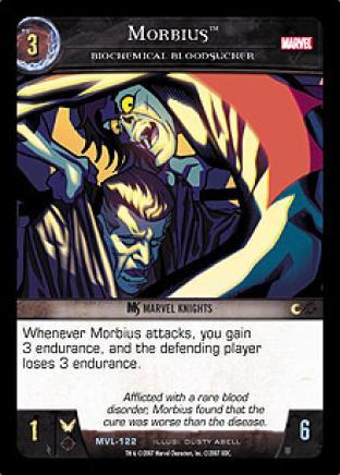 Morbius, Biochemical Bloodsucker