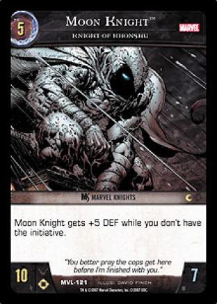 Moon Knight, Knight of Khonshu
