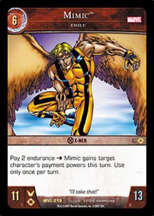Mimic, Exile
