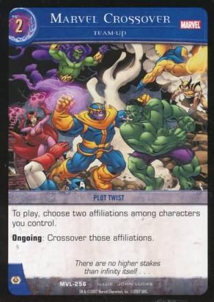 Marvel Crossover, Team-Up