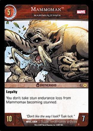 Mammomax, Maximus Jensen