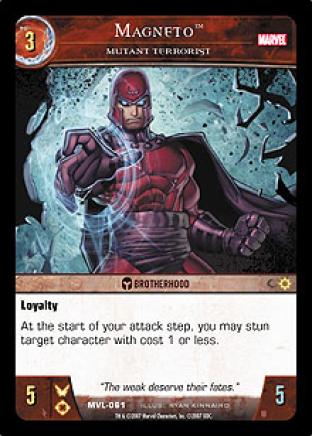 Magneto, Mutant Terrorist
