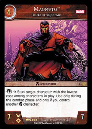 Magneto, Mutant Supreme