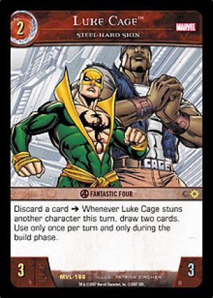 Luke Cage, Steel-Hard Skin