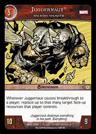 Juggernaut, Walking Disaster