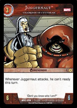 Juggernaut, Champion of Cyttorak