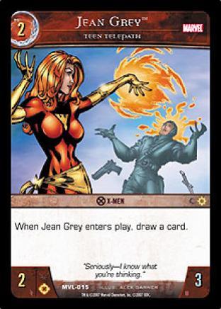 Jean Grey, Teen Telepath