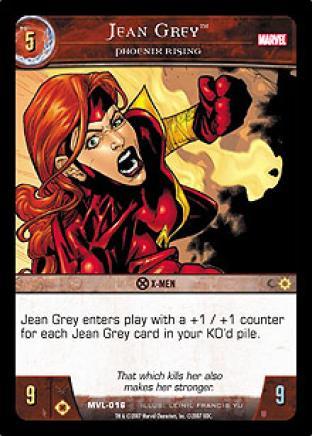 Jean Grey, Phoenix Rising