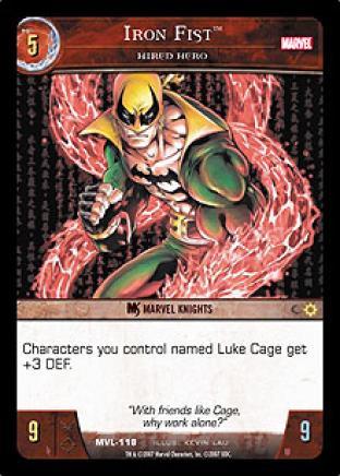 Iron Fist, Hired Hero
