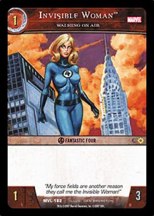 Invisible Woman, Walking on Air