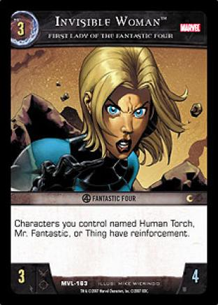 Invisible Woman, First Lady of the Fantastic Four