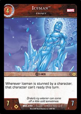 Iceman, Frosty