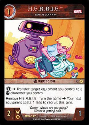 H.E.R.B.I.E., Robot Nanny