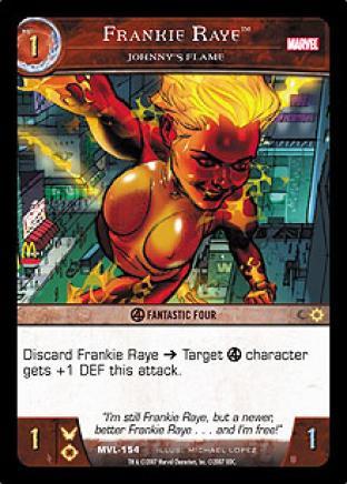 Frankie Raye, Johnny's Flame