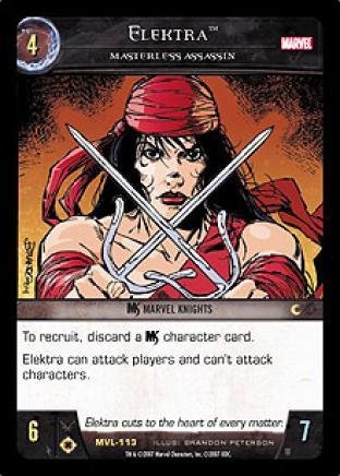 Elektra, Masterless Assassin