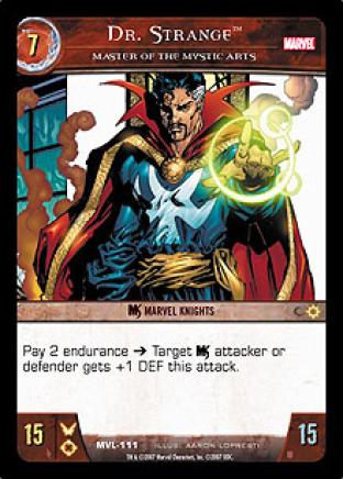 Dr. Strange, Master of the Mystic Arts
