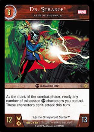 Dr. Strange, Ally of The Four