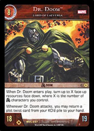 Dr. Doom, Lord of Latveria
