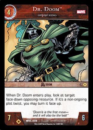 Dr. Doom, Gypsy King