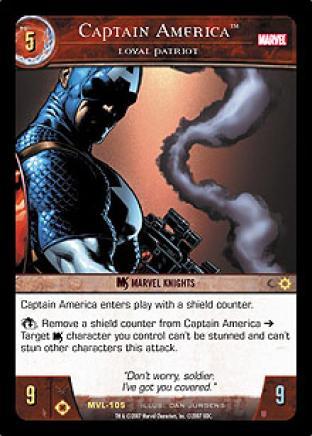 Captain America, Loyal Patriot