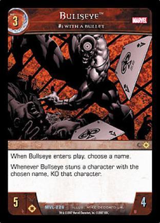 Bullseye, #1 with a Bullet