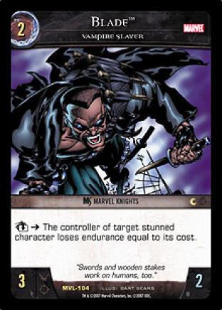 Blade, Vampire Slayer