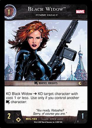 Black Widow, Femme Fatale