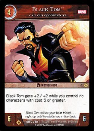 Black Tom, Callous Opportunist