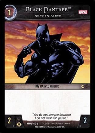Black Panther, Silent Stalker