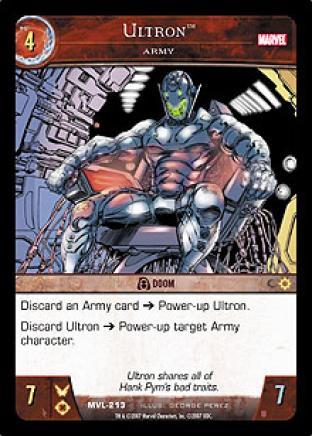 Ultron, Army
