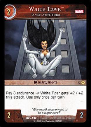 White Tiger, Angela Del Toro