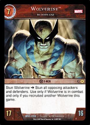 Wolverine, Bloodlust