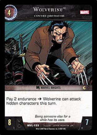 Wolverine, Covert Predator