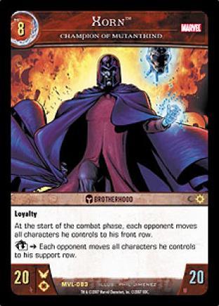 Xorn, Champion of Mutantkind