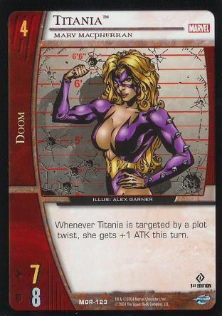Titania, Mary MacPherran