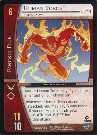 Human Torch, Super Nova