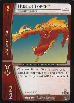 Human Torch, Johnny Storm