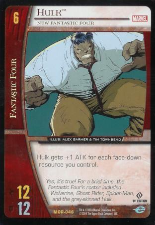 Hulk, New Fantastic Four