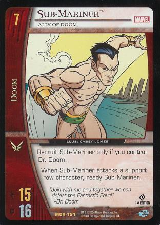 Sub-Mariner, Ally of Doom