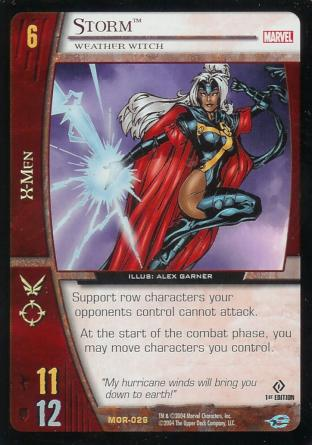 Storm, Weather Witch