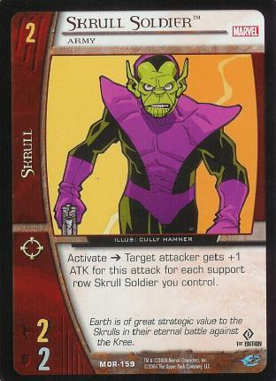 Skrull Soldier, Army