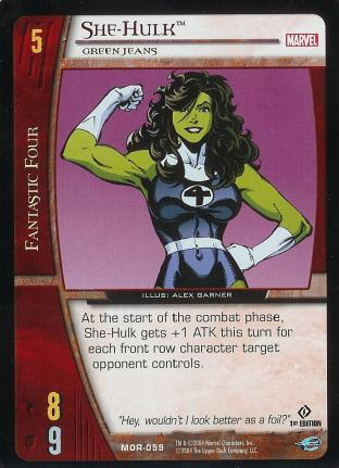 She-Hulk, Green Jeans