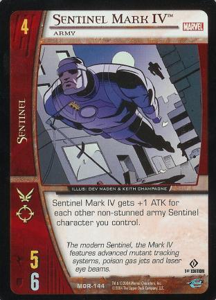 Sentinel Mark IV, Army