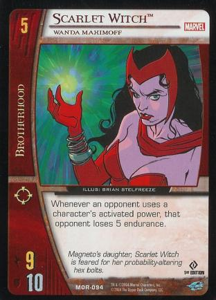 Scarlet Witch, Wanda Maximoff
