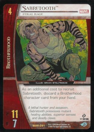 Sabretooth, Feral Rage